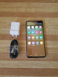 SAMSUNG GALAXY S10 5G 256GB UNLOCKED TO ALL NETWORKS IN EXCELLENT COND