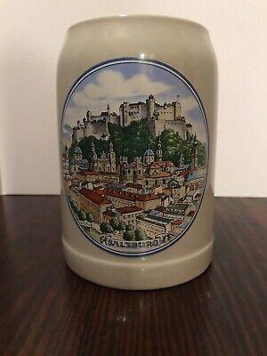 German Beer Mug: Salzburg