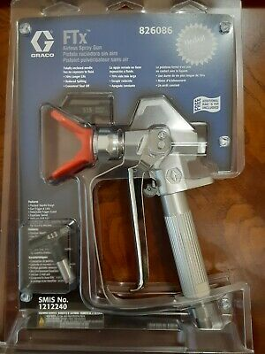 Grace Ftx Ii Spray Gun With Extra Tip - Sealed Package