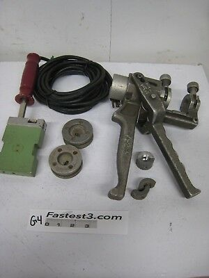 Mcelroy Model Mini Mac Fusion Assembly Cutterfacer Heater