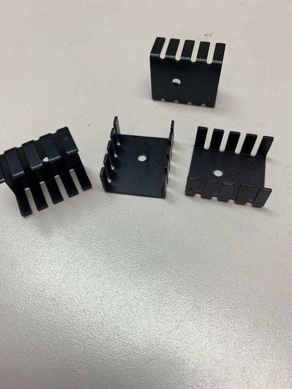 20PCS TO-220 Heat Sink Black TO220 20x13x9mm IC Heat Sink Aluminum P0 Nu