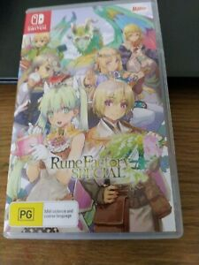 Nintendo Switch Rune Factory 4 Special