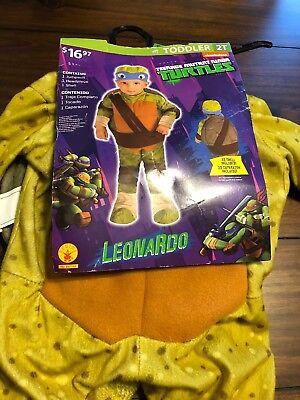 Teenage Mutant Ninja Turtles Costume Leonardo Toddler 2T