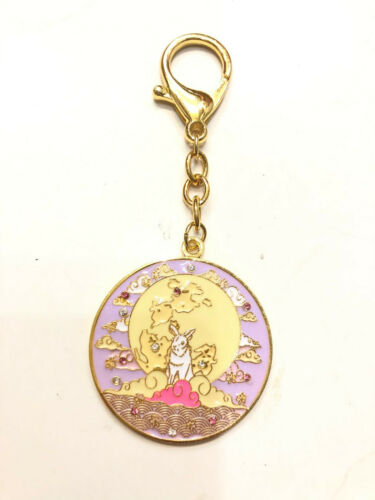 2021 Feng Shui Love Amulet Keychain with Moon Rabbit