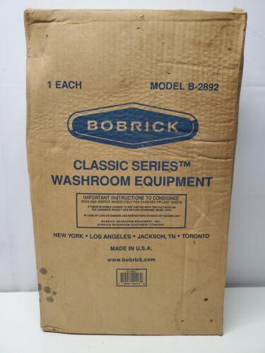 Bobrick B-2892 Stainless Classic Series Twin Jumbo Roll Toilet Tissue Dispenser