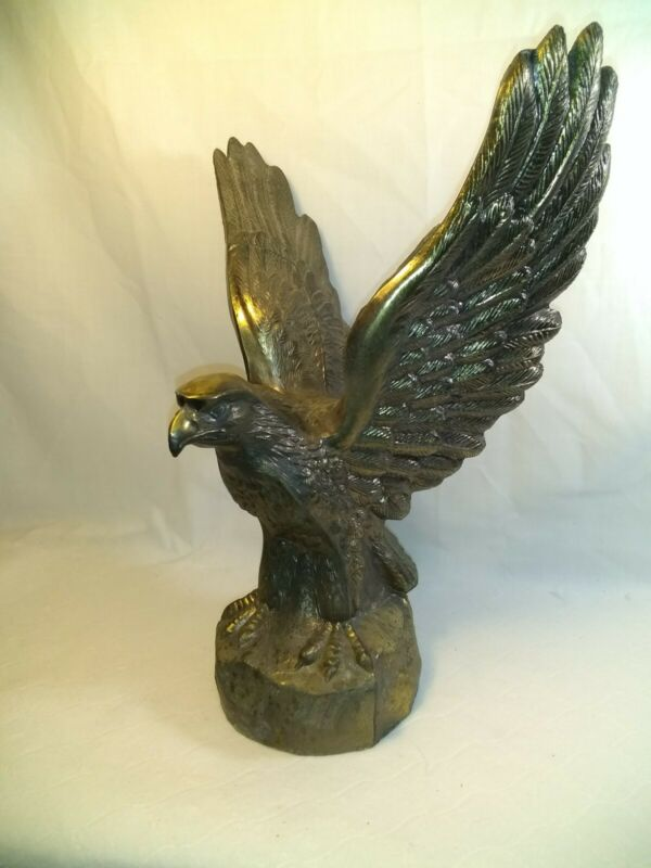 Vintage Eagle Cast Brass Metal 11