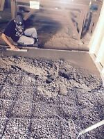 Concrete finishing company
