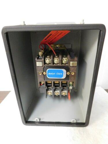 Joslyn Clark NEMA Motor Starters Amperage: 27 NEMA  Size 1 T13TA31-26