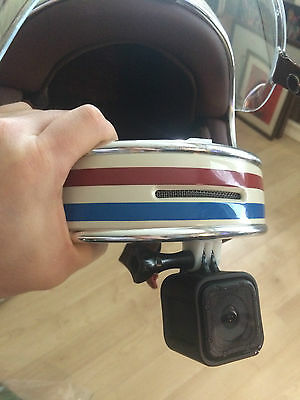 Bell Bullitt GoPro SJCam chin bar mount, no sticky pad needed!