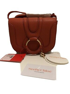 See by Chloe Hana Shoulder Bag. Red Sand Color. Brand New
