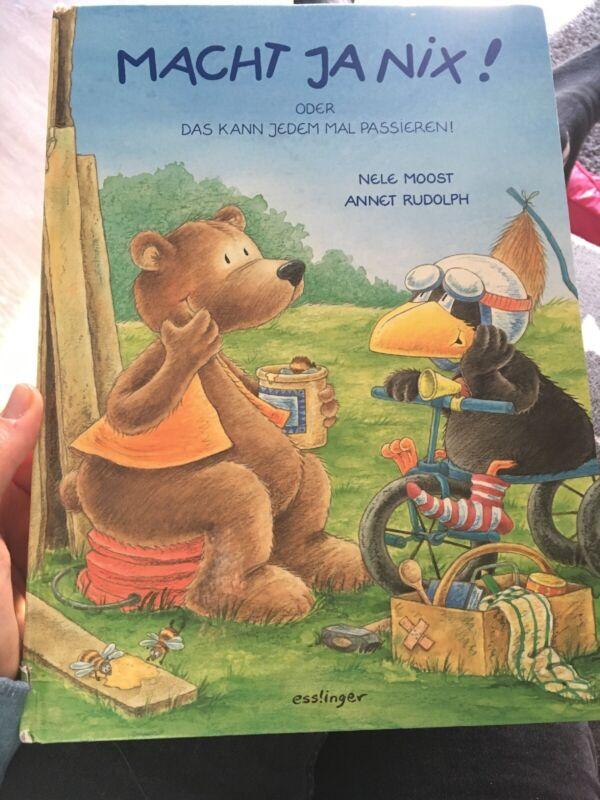 Der kleine Rabe Socke: Macht ja nix! von Nele Moost (1998, Gebundene Ausgabe)
