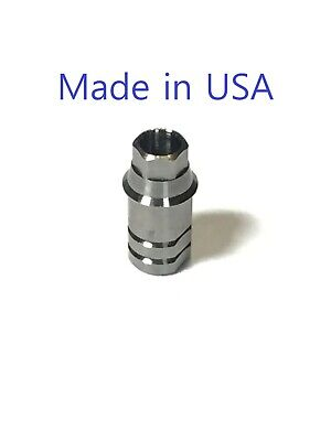 5x Dental Implant Ti Base Abutment For Nobel Active 4.3 Rp 46mm