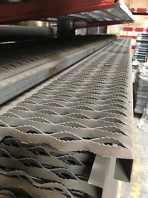 Grip Strut 9-12 X 1-12 X 14 Ga Unfinished Steel X 12 Chicago