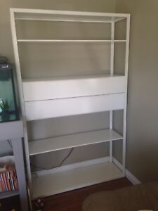 Large IKEA metal shelf