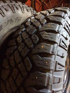 Tires and Rims 8 bolt Studded 265-75-16