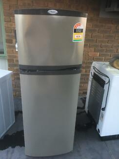 Free delivery Whirlpool stainless fridge/freezer