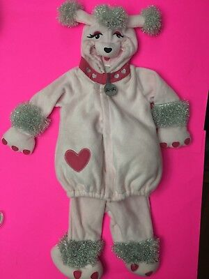 NWT OLD NAVY PINK POODLE COSTUME HALLOWEEN FI FI 12-24 MONTHS 2 PIECE OUTFIT DOG](2 Month Old Halloween Costumes)