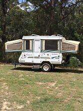 Jayco dove outback 2004 with full annex and fly end Melton Melton Area Preview