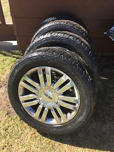 4 good used tires and rims
