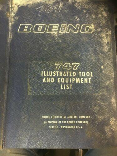 Boeing Original Avionics 747 Illustrated Tool & Equipment List Document D6-13381