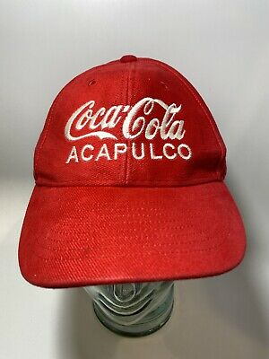 Coca Cola Acapulco Adjustable Hat