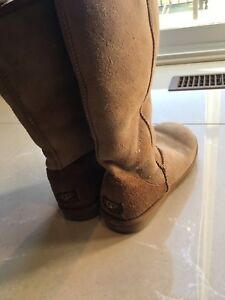 Ugg boots for women Chesnut brown Size 7