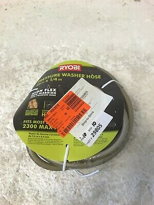 Ryobi 14 In. X 25 Ft. 2300 Psi Pressure Washer Replacement Hose