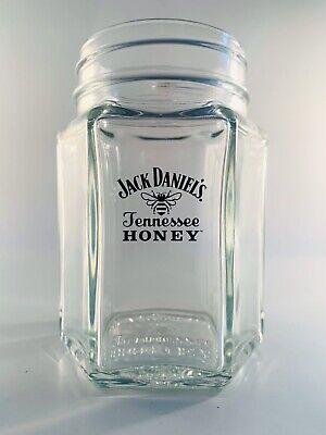 JACK DANIELS Tennessee Honey Mason Jar Cocktail Glass - Set of 6 NEW