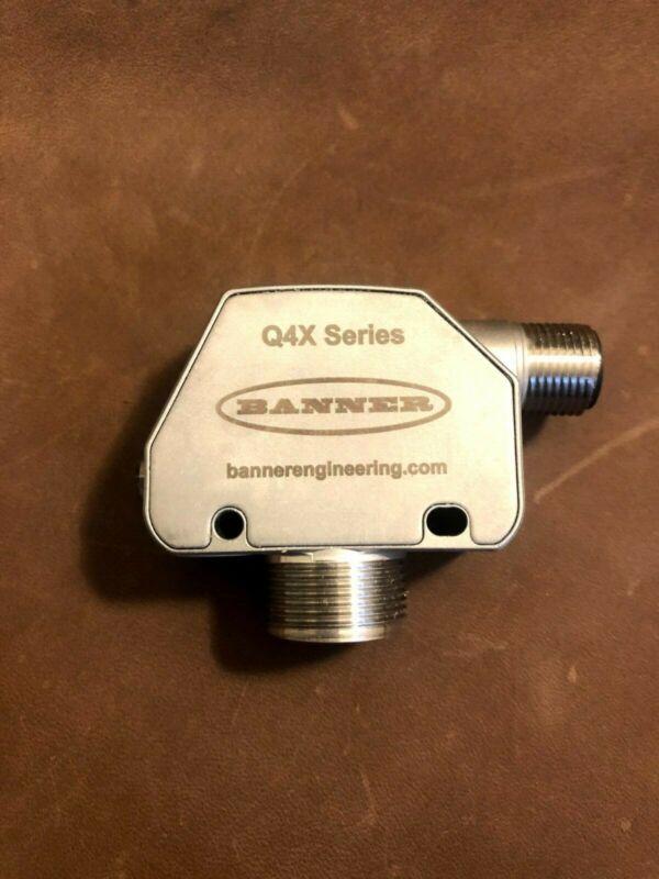 banner q4x, q4xtbcod300-q8, control automation photoeye / photoelectric sensor