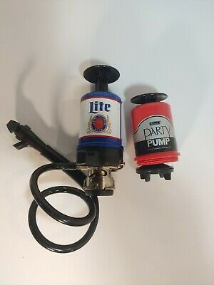Light Beer Party Pump Perlick Beer Keg Tap With Picnic Faucetvintage Lot Of 2