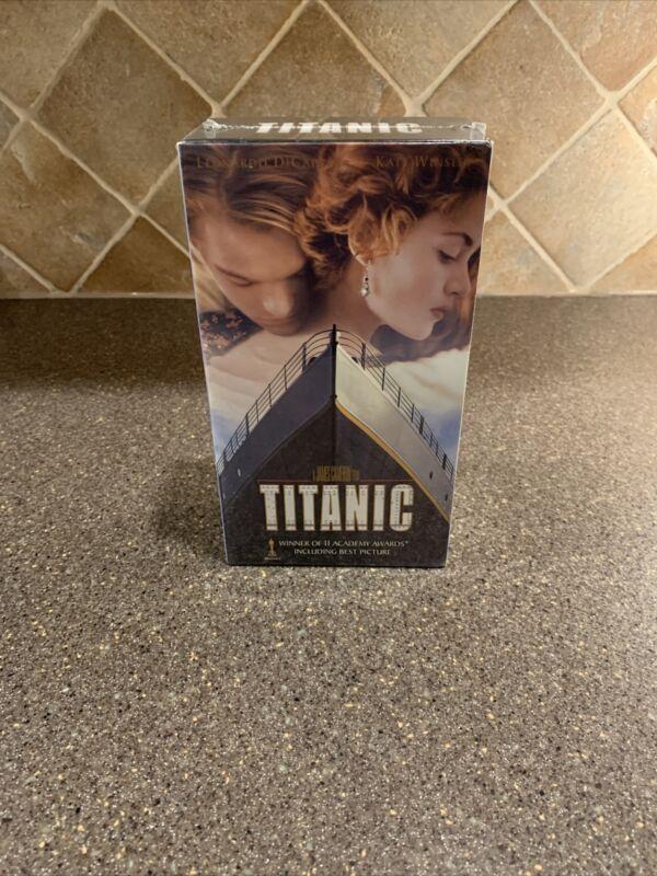 (NEW SEALED) Titanic (VHS, 1998, 2-Tape Set,)