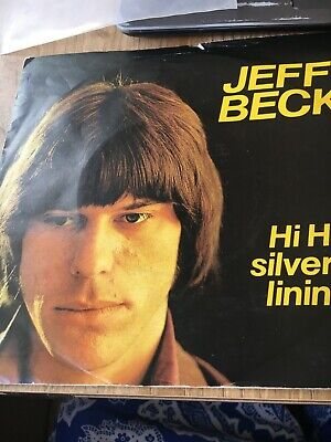 """Jeff Beck-Hi ho silver lining 7"""" P/S reissue"""