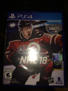 Brand New Unopened NHL 18 PS4