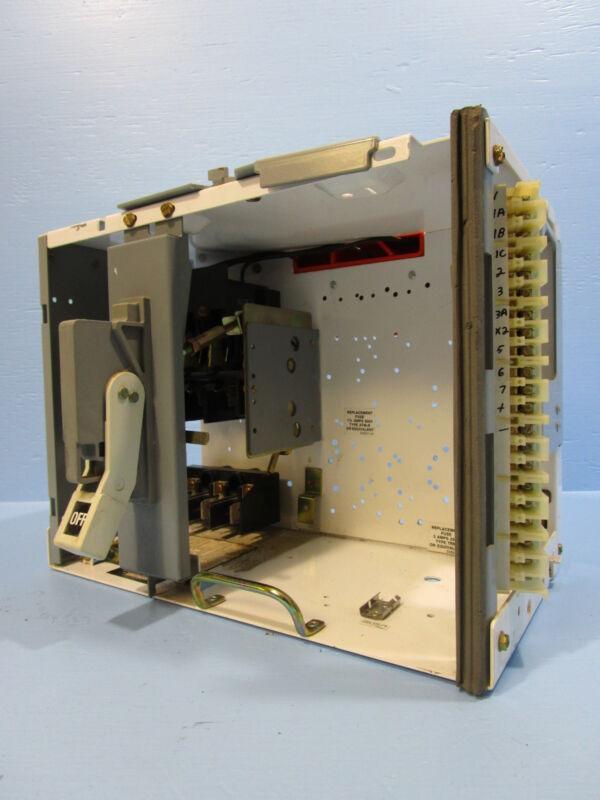 "Siemens Tiastar 30 Amp Fused Feeder MCC Bucket Fusible MCCB Furnas 89 30A 12"""