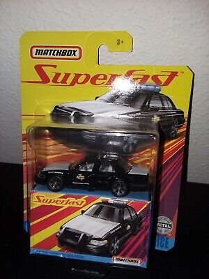 MATCHBOX 2020 SUPERFAST 2006 FORD CROWN VICTORIA POLICE HARD TO FIND