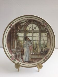 """FOR SALE: COLLECTOR PLATE TRISHA ROMANCE """"BRIGHT EYES"""""""