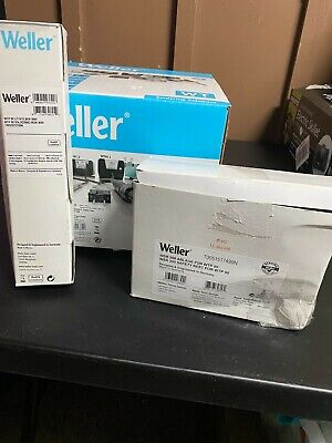 New Weller Soldering Station Wt 1 120v 60hz With Iron And Stand