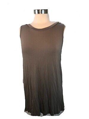 Agnes and Dora Tunic/ dress light brown women's size Medium