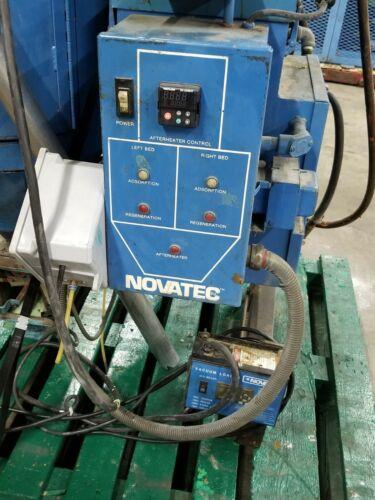 Novatec MD-25 Dryer & Hopper & Loader 480V single phase