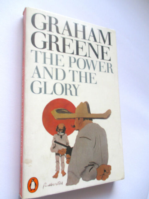 Graham Greene  THE POWER AND THE GLORY classic fiction vintage paperback 1983