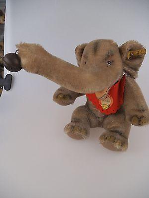 Steiff Elefant Jumbo 4322,00 komplett mit KFS 60er Jahre (275)