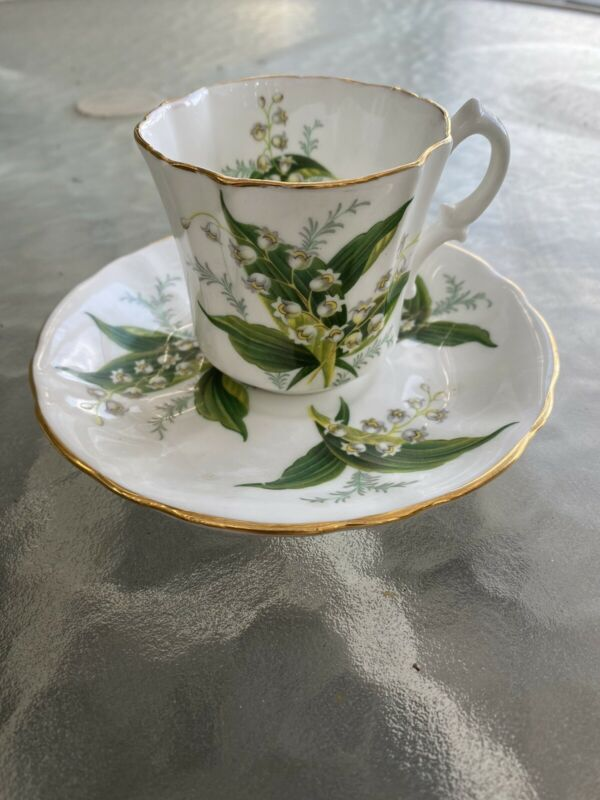 Hammersley Bone China Tea Cup And Saucer Made In England