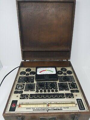 Precision Apparatus Series 920 Electronamic Tube And Set Tester