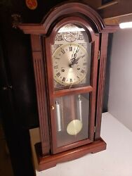 Vintage Waltham Tempus Fugit 31-Day Chiming Wall Clock