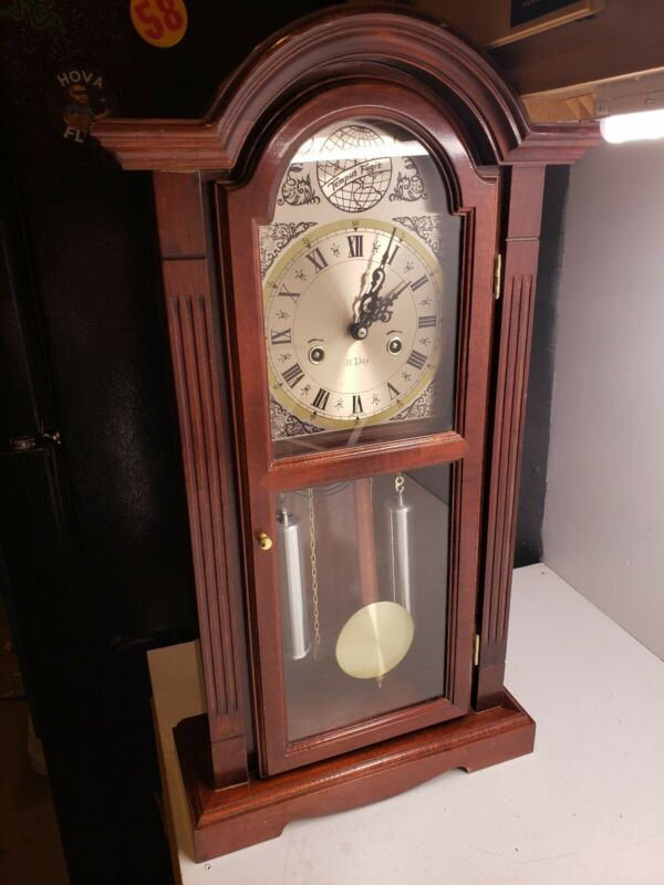 Vintage Waltham Tempus Fugit 31-Day Chiming Wall Clock