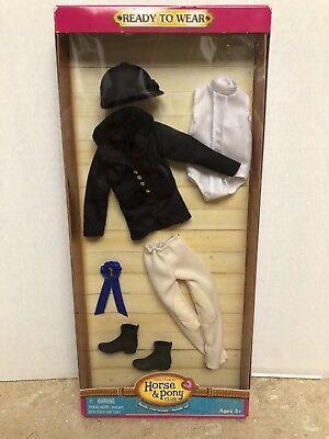 ONLY HEARTS HORSE & PONY CLUB BLACK ENGLISH RIDING OUTFIT 03202 (Black English Riding Outfit)
