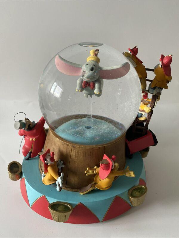 "Disney Dumbo Snow Globe Music Tune ""Entry Of The Gladiators "" Rare"