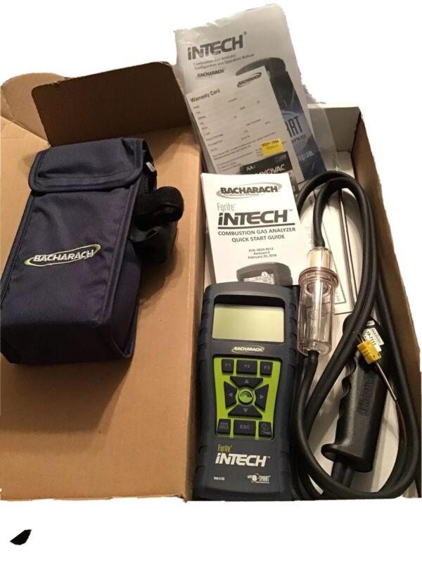 New Bacharach Fyrite Intech combustion gas analyzer