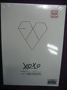 EXO-EXO-K-XOXO-Kiss-Ver-1ST-ALBUM-CD-YEARBOOK-NEW-SEALED