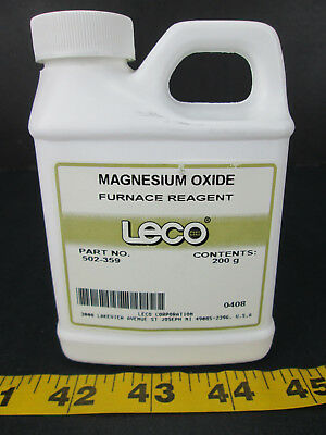 Leco Corporation Magnesium Oxide Furnace Reagent Part No. 502-359 Science Lab T